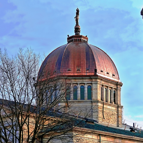 New Copper Dome - Bradford County Courthouse 1