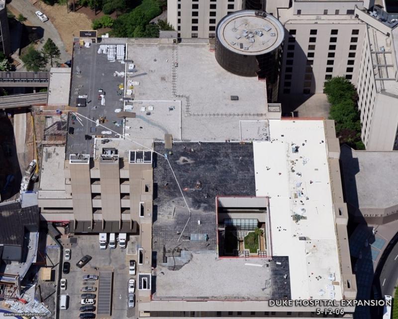 Duke University Heliport Evans Roofing Company Inc
