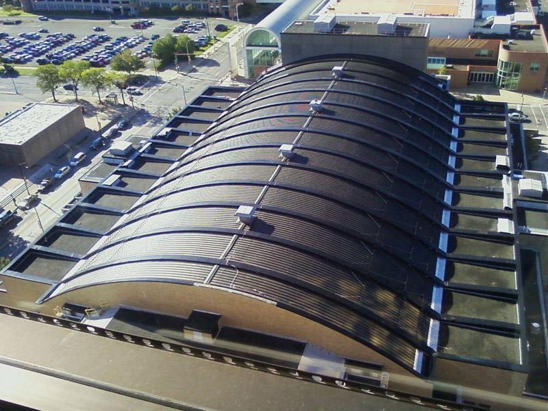 Onondaga County War Memorial Evans Roofing Company Inc