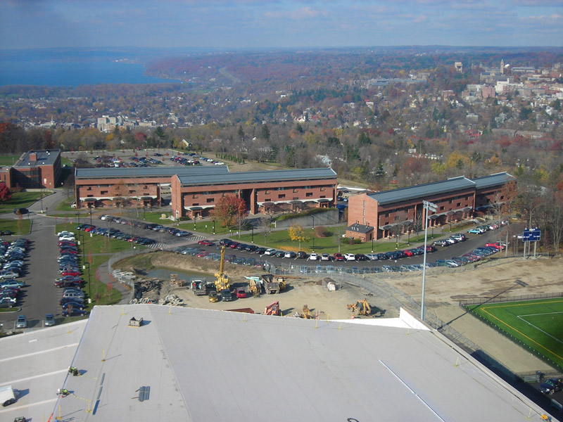 Ithaca College Garden Apartments Evans Roofing Company