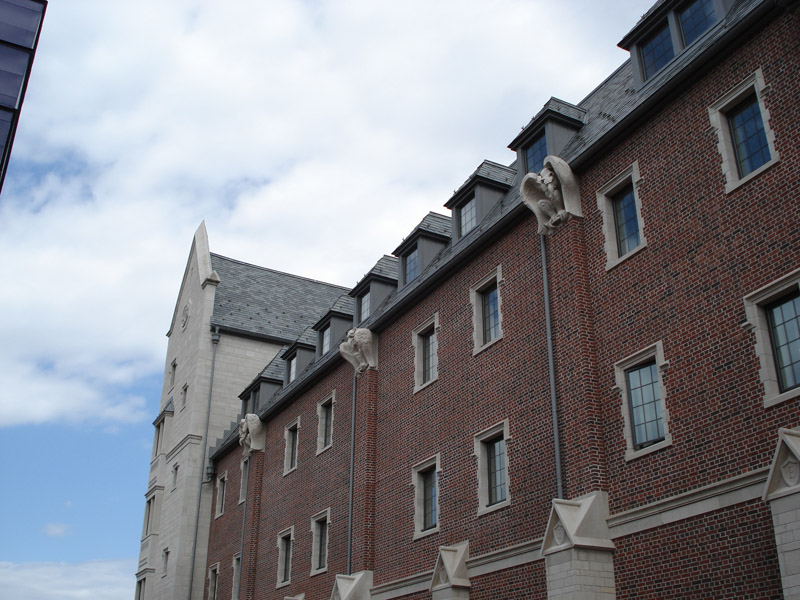 Elmira College Meier Dormitory Evans Roofing Company