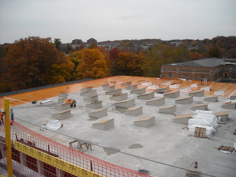 Cornell University Milstein Hall Evans Roofing Company
