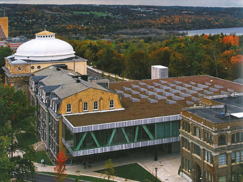 Cornell University Milstein Hall Evans Roofing Company