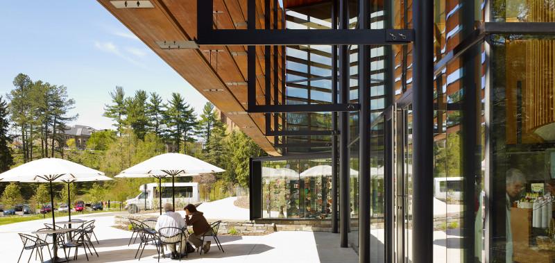 Cornell University Plantations Welcome Center Evans