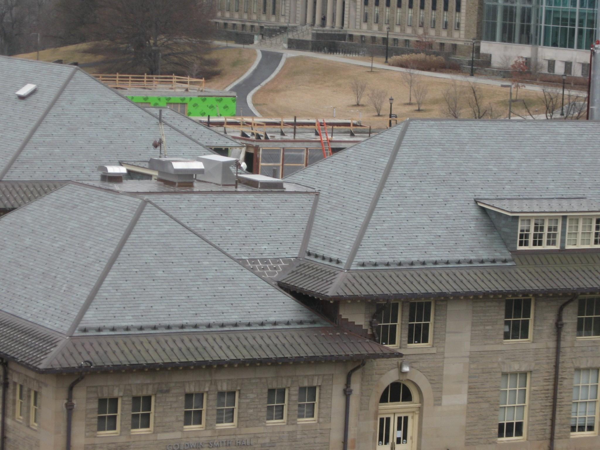 Cornell University Goldwin Smith Hall Evans Roofing