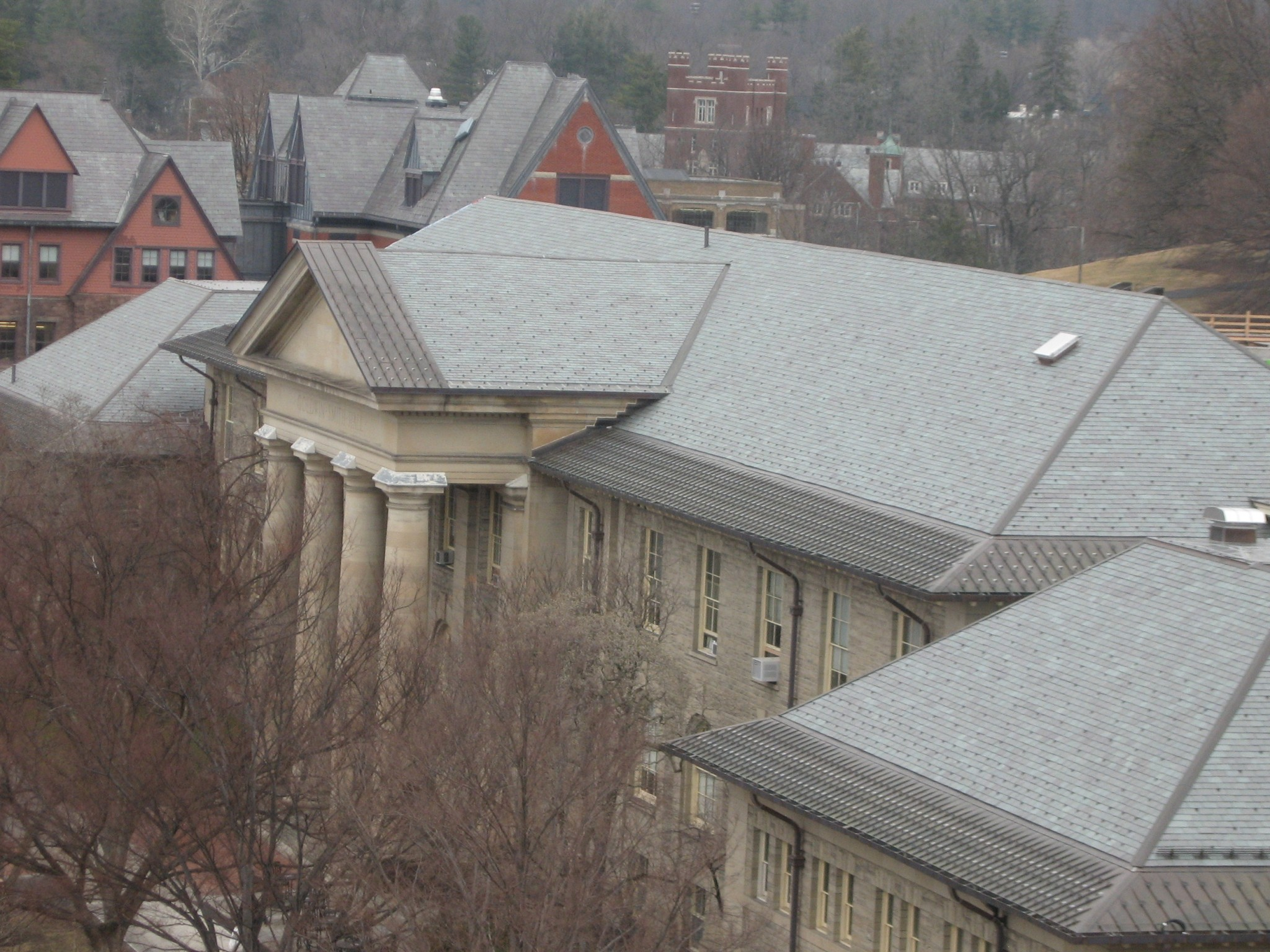Cornell University Goldwin Smith Hall Evans Roofing