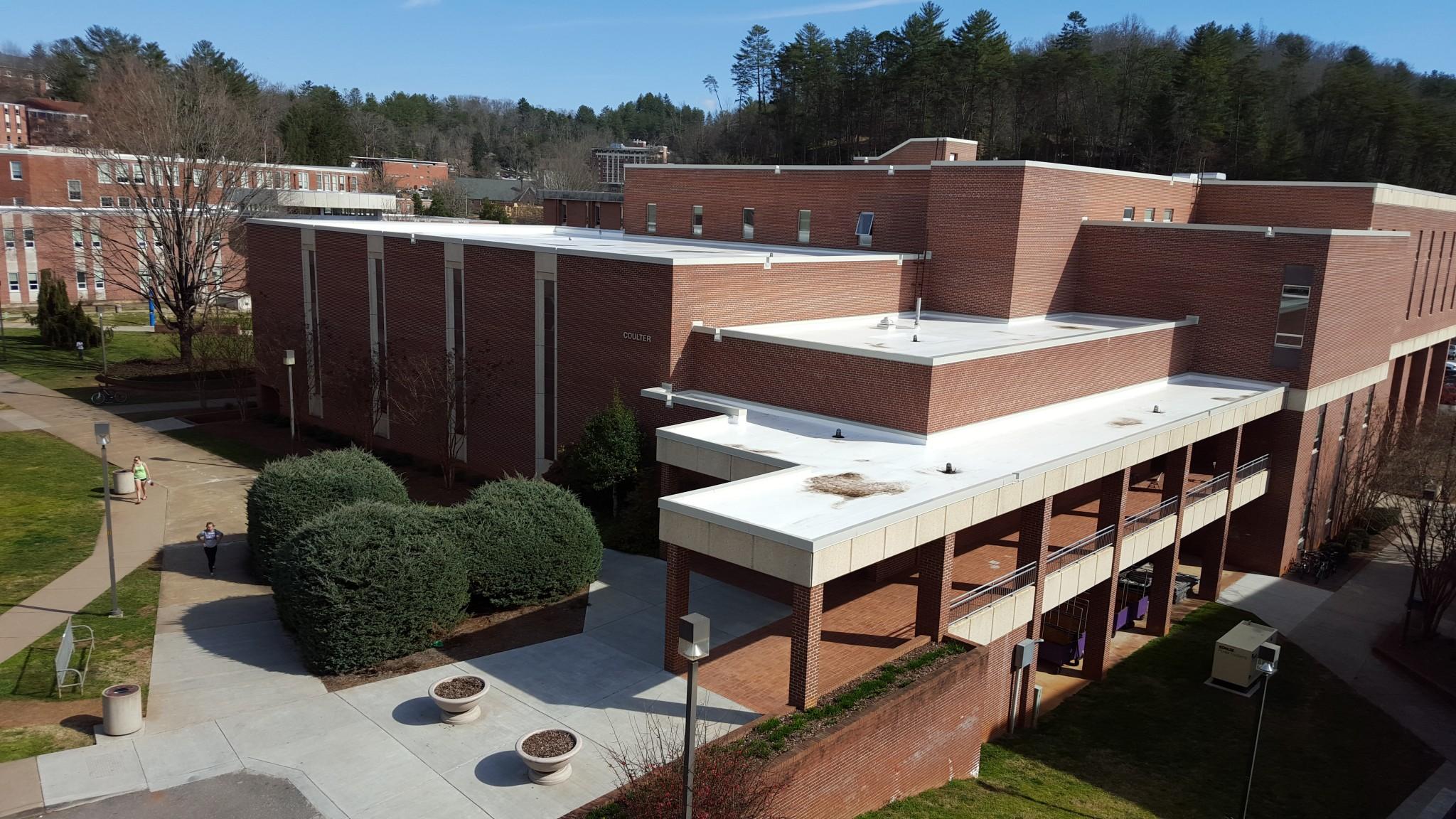 Western Carolina University Coulter Building Evans
