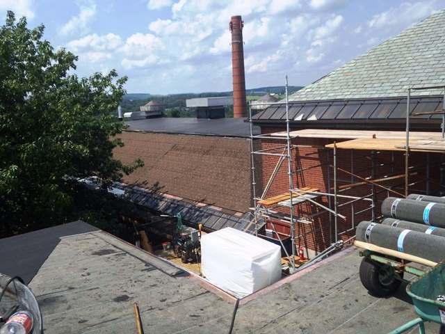 Suny Cortland Old Main Evans Roofing Company Inc