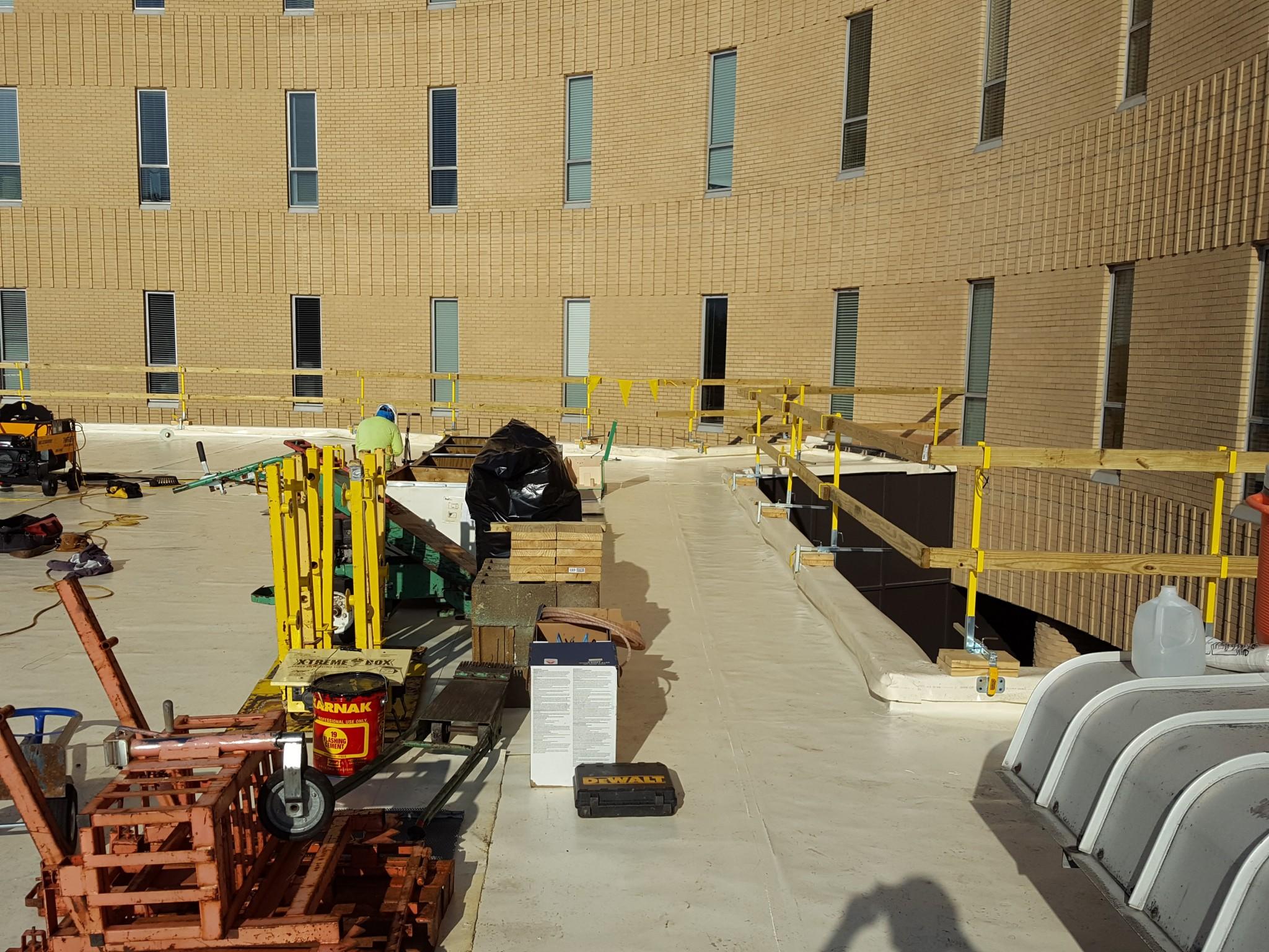 Nash Hospital Administration Building Evans Roofing
