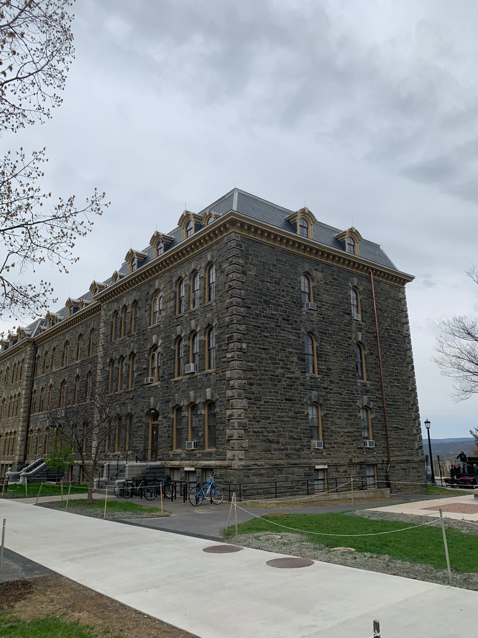 Morrill Hall Cornell University Evans Roofing Company