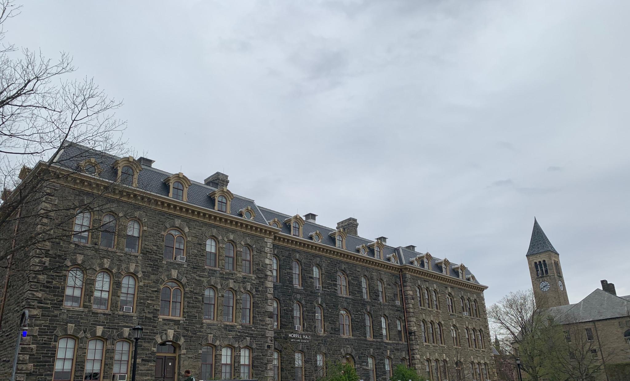 Morrill Hall Cornell University Evans Roofing Company